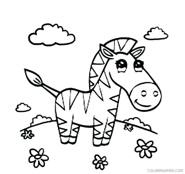600x564 Zebra Coloring Page Free Zebra Coloring Pages Zebra Coloring Page
