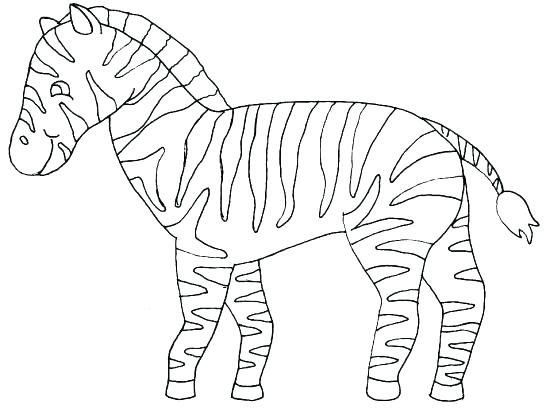 547x413 Baby Zebra Coloring Pages Coloring Pages Baby Cute Zebra Coloring