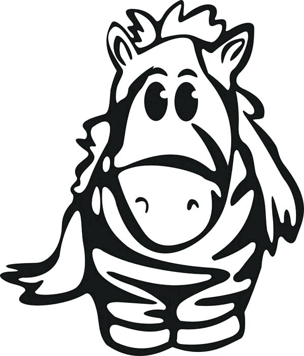 600x704 Baby Zebra Coloring Pages Medium Size Of Zebra Coloring Page Pages