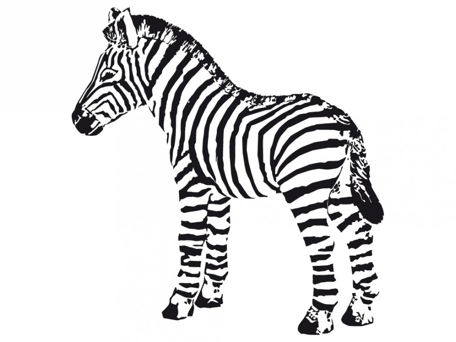 940x705 Cute Zebra Coloring Page Free Coloring Pages Of Zebras