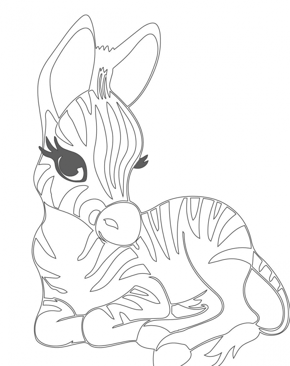 969x1224 High Tech Zebra Coloring Page Cute Pages New C
