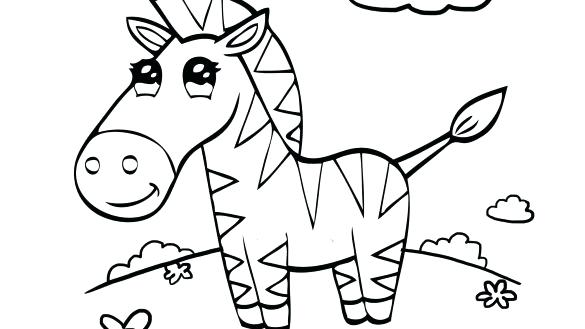 585x329 Zebra Coloring Page Awesome Zebra Coloring Pages Ideas For Your