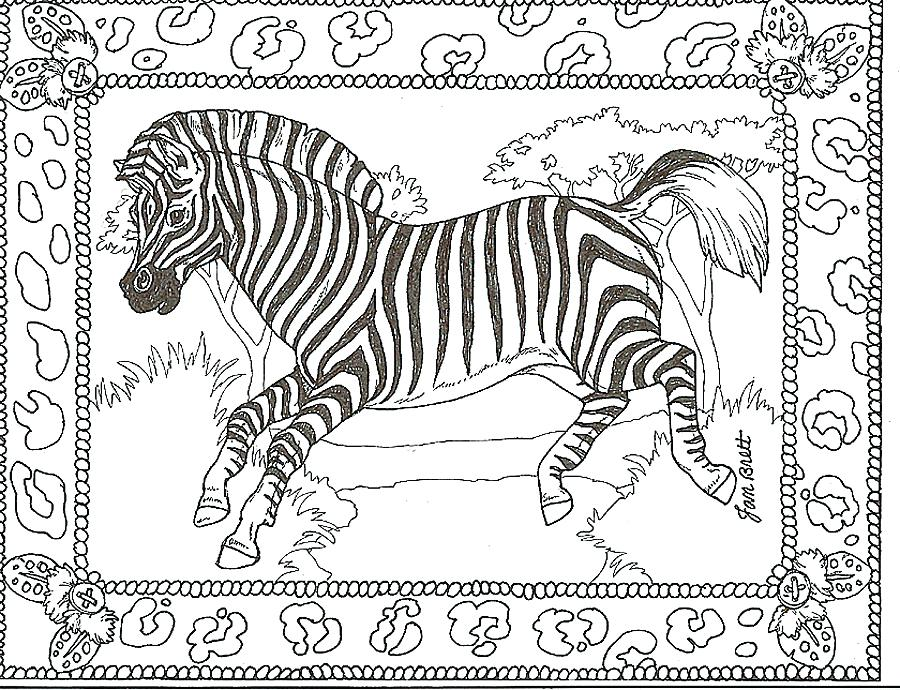 900x690 Zebra Coloring Pages Free Printable Adult Zebra Coloring Pages