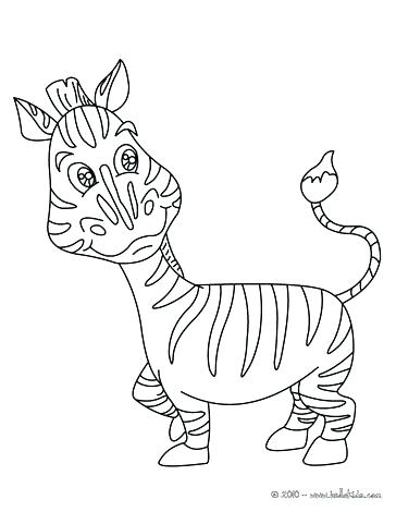 364x470 Zebra Pictures To Color Plus Zebra Color Sheet Beautiful Zebra