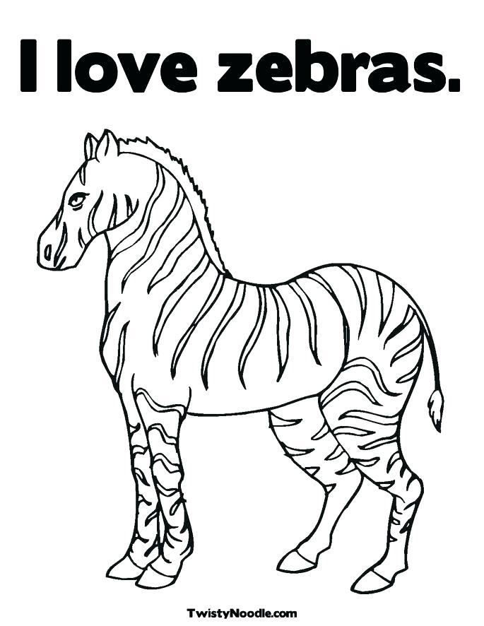 685x886 Zebra Coloring Pages Pdf Coloring Pages Animals Zebra Print