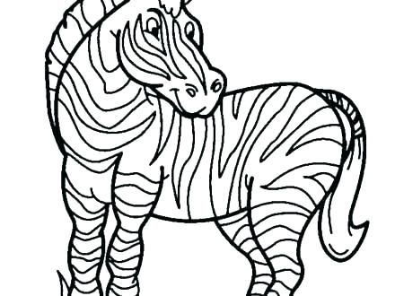 440x330 Zebra Print Coloring Pages Coloring Pages Of Zebras Zebra Print