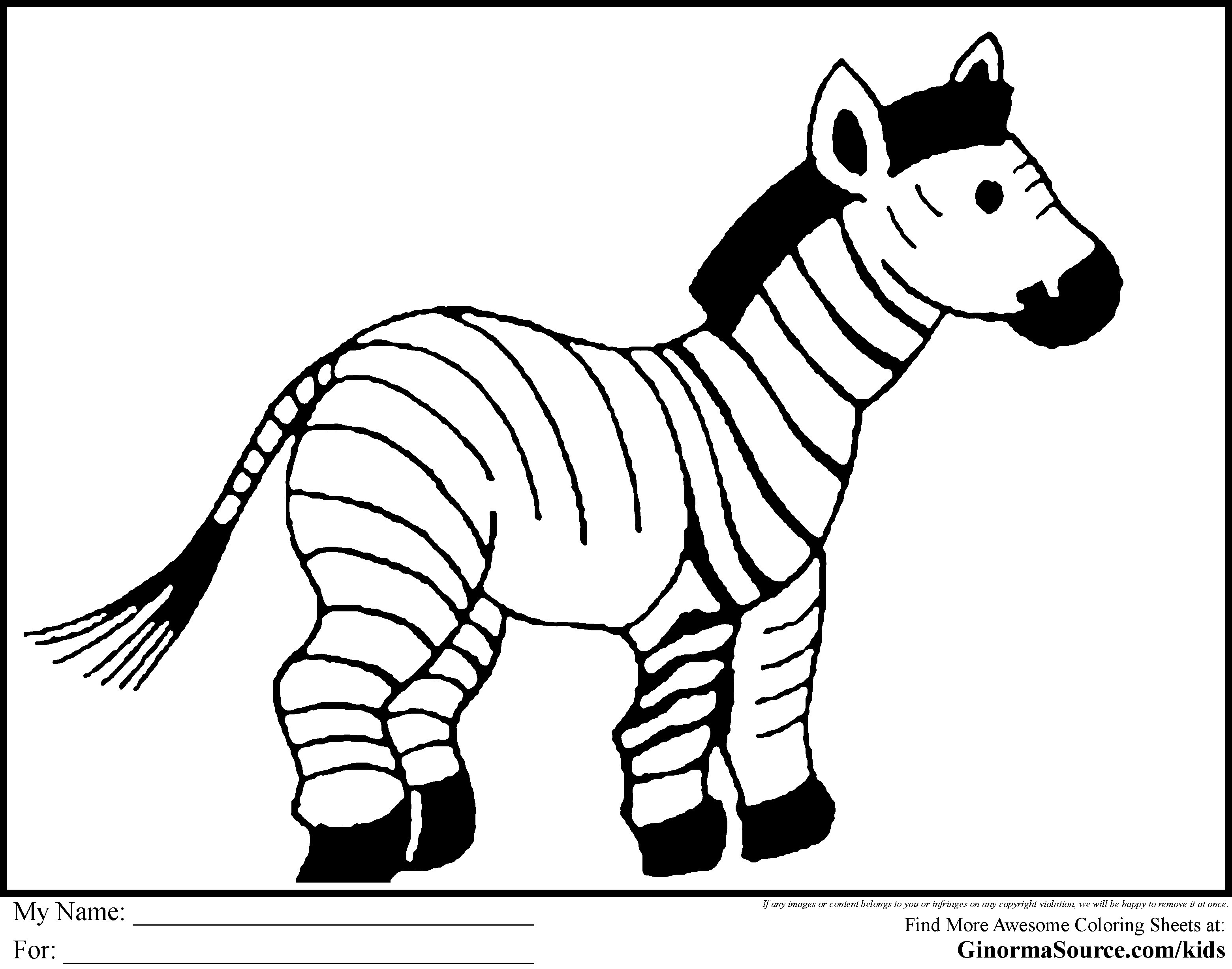 3120x2455 Best Of Coloring Pages Zebra Print