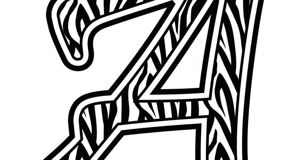 960x544 Zebra Print Coloring Pages