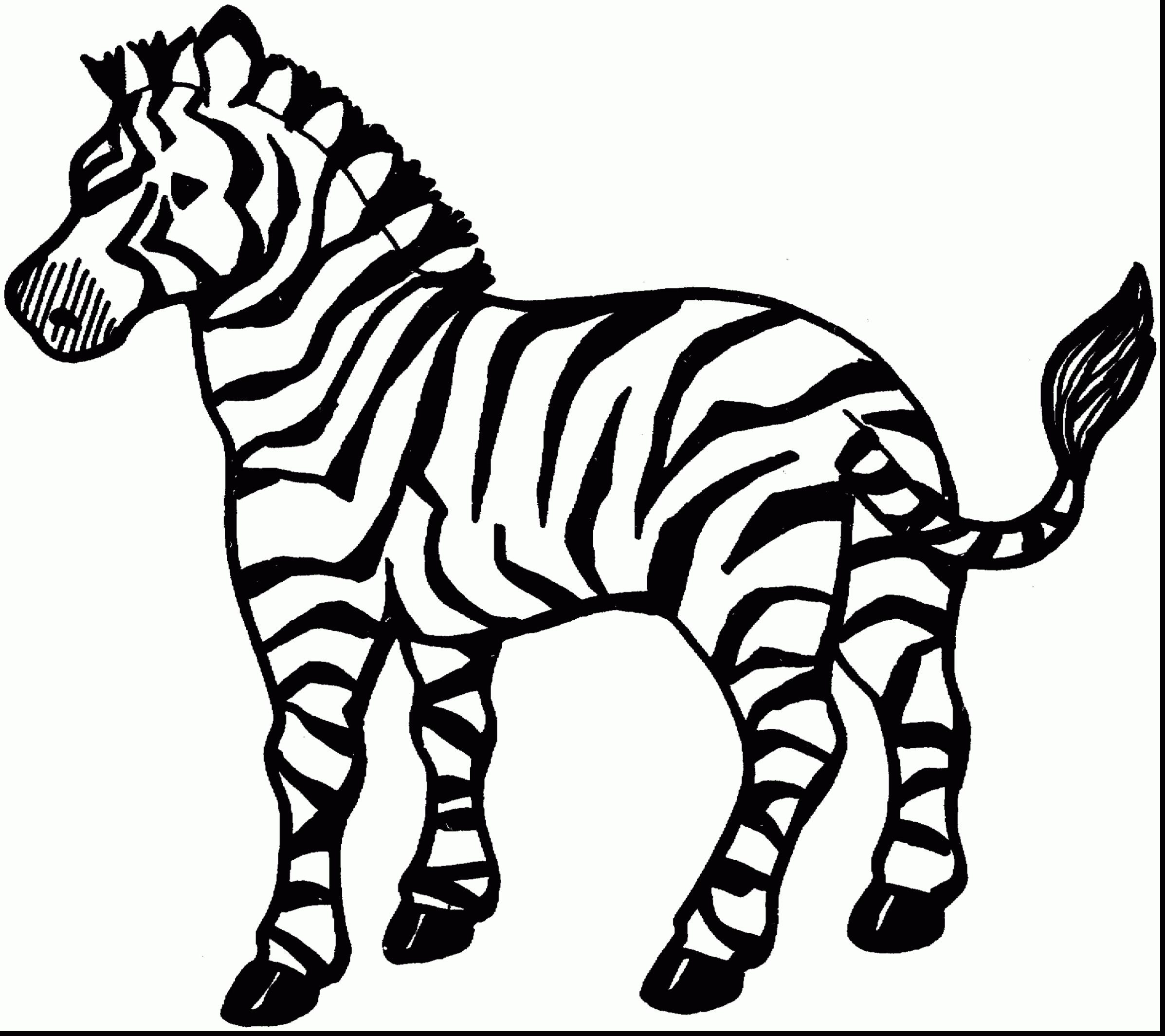 2394x2128 Coloring Pages Zebra Print Beautiful Zebra To Print