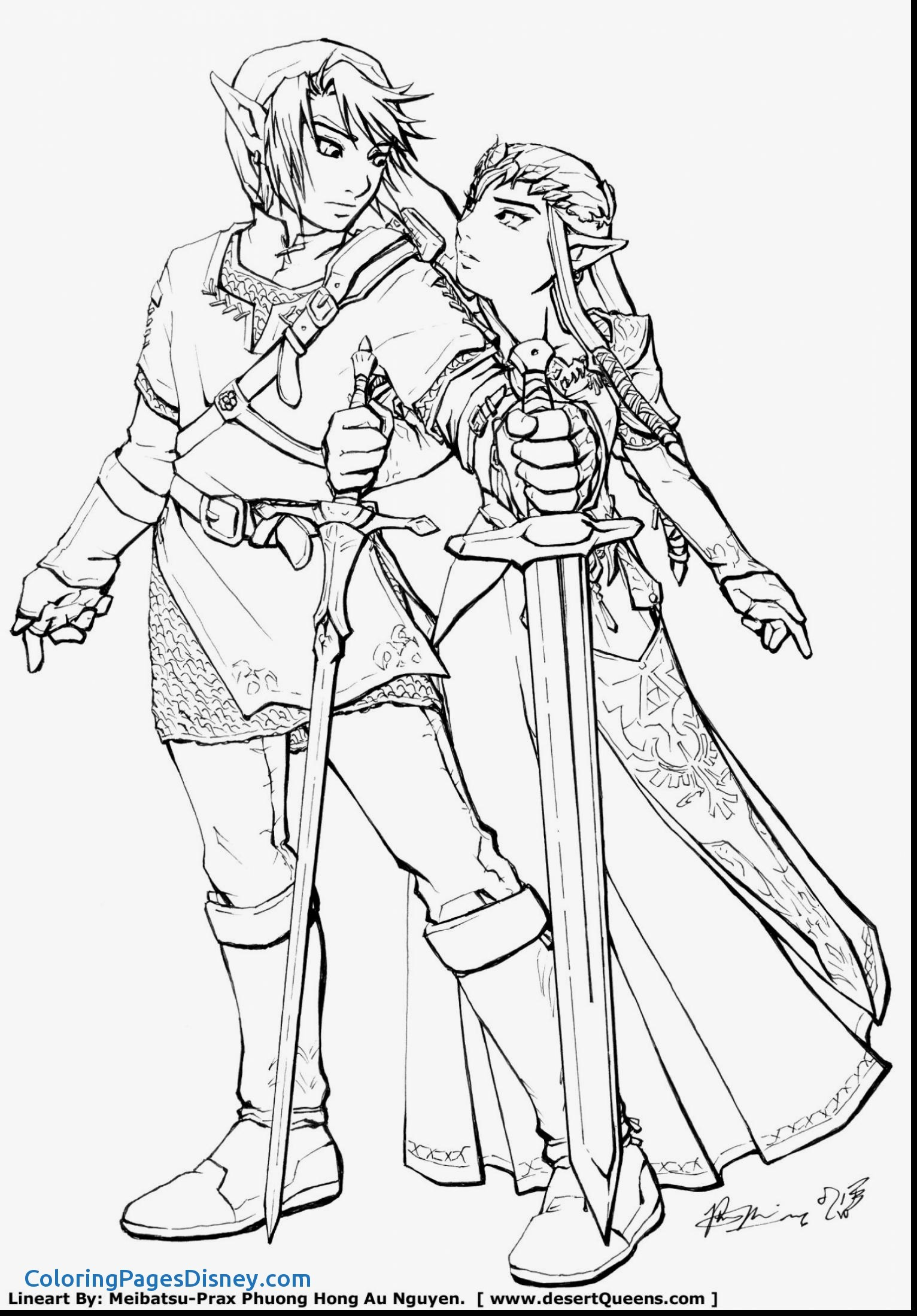 1532x2200 The Legend Of Zelda Coloring Pages Awesome Amazing Design Link