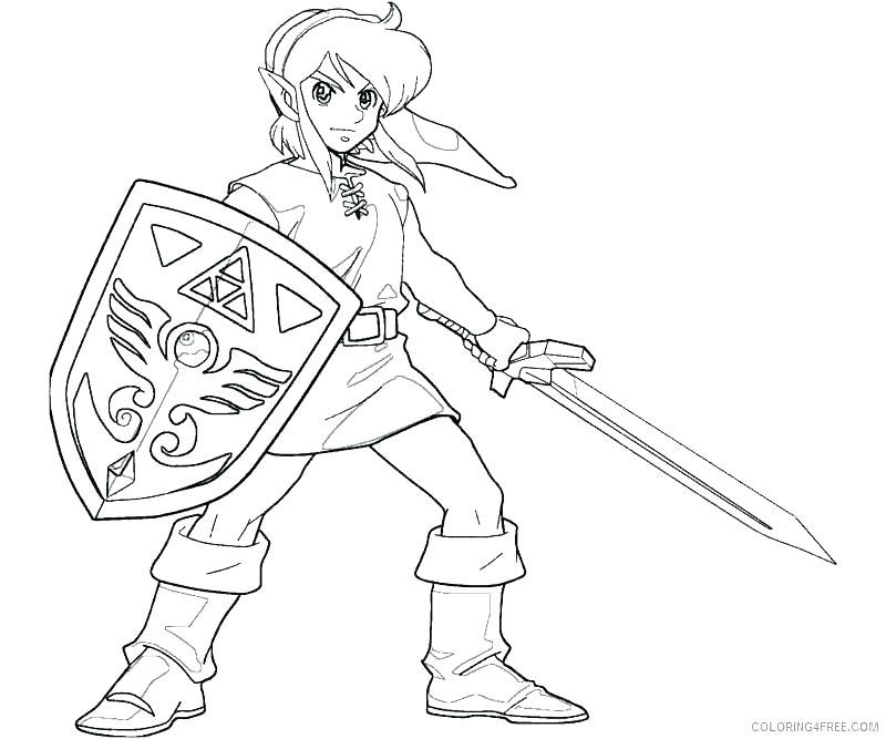 800x667 Zelda Coloring Page Link Coloring Pages Princess Zelda Coloring
