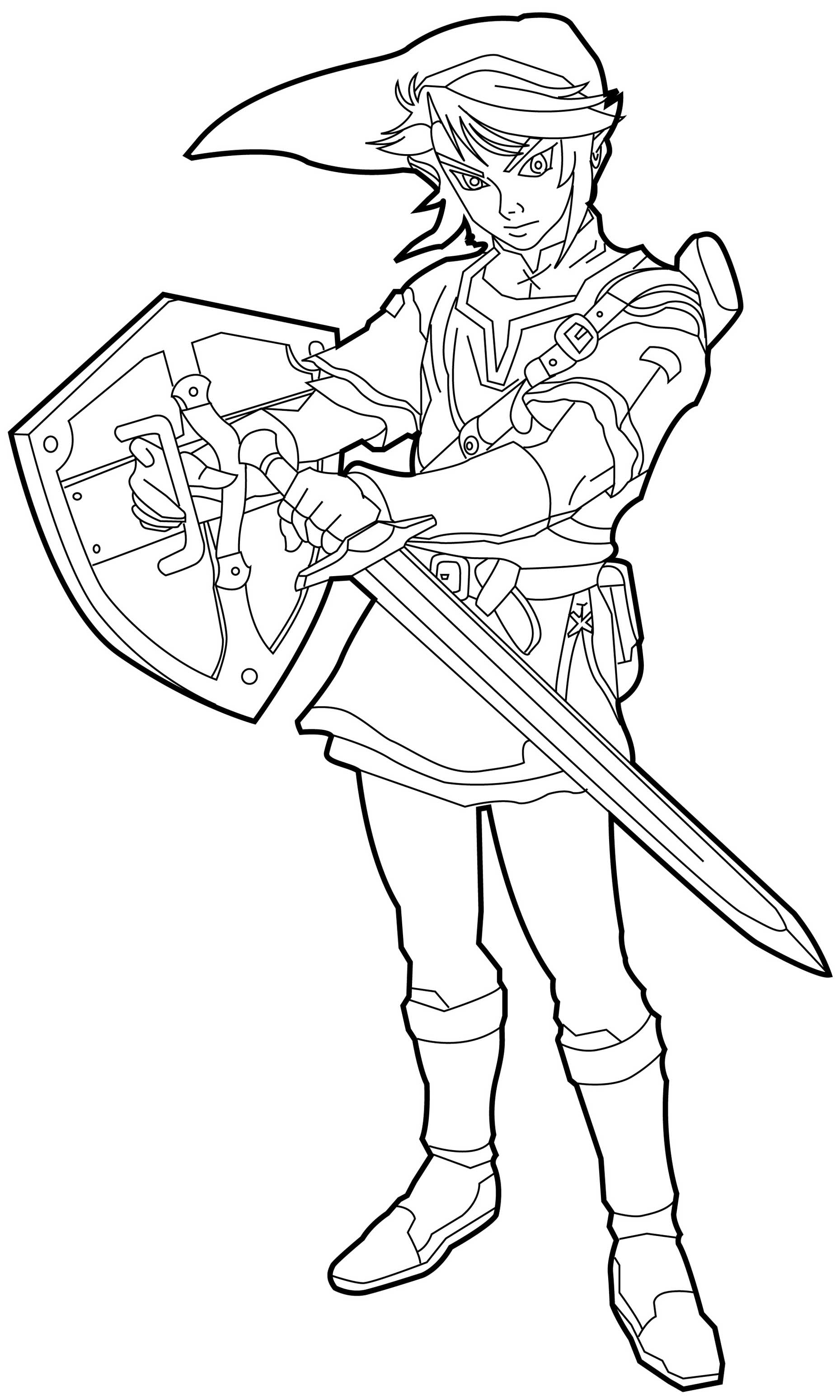 1859x3098 Best Of Zelda Twilight Princess Coloring Pages For Adults Gallery