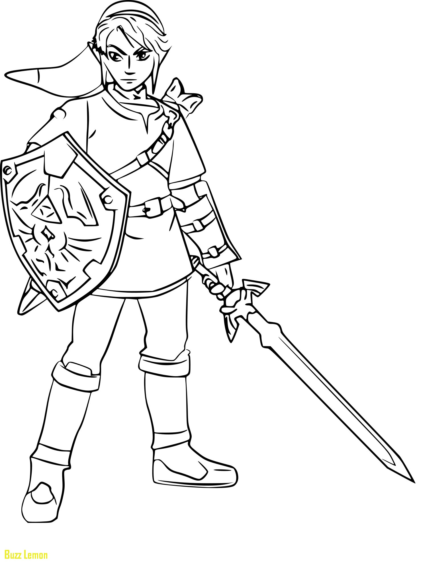 zelda coloring pages at getdrawings  free download