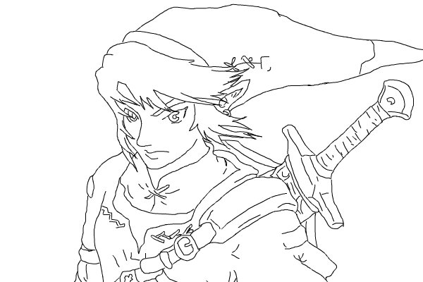 600x400 Comment This Picture Legend Zelda Coloring Pages Bebo Pandco