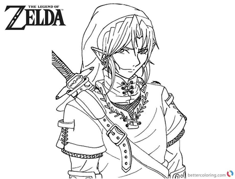 🎨 Zelda Coloring Pages - Kizi Coloring Pages | 700x920