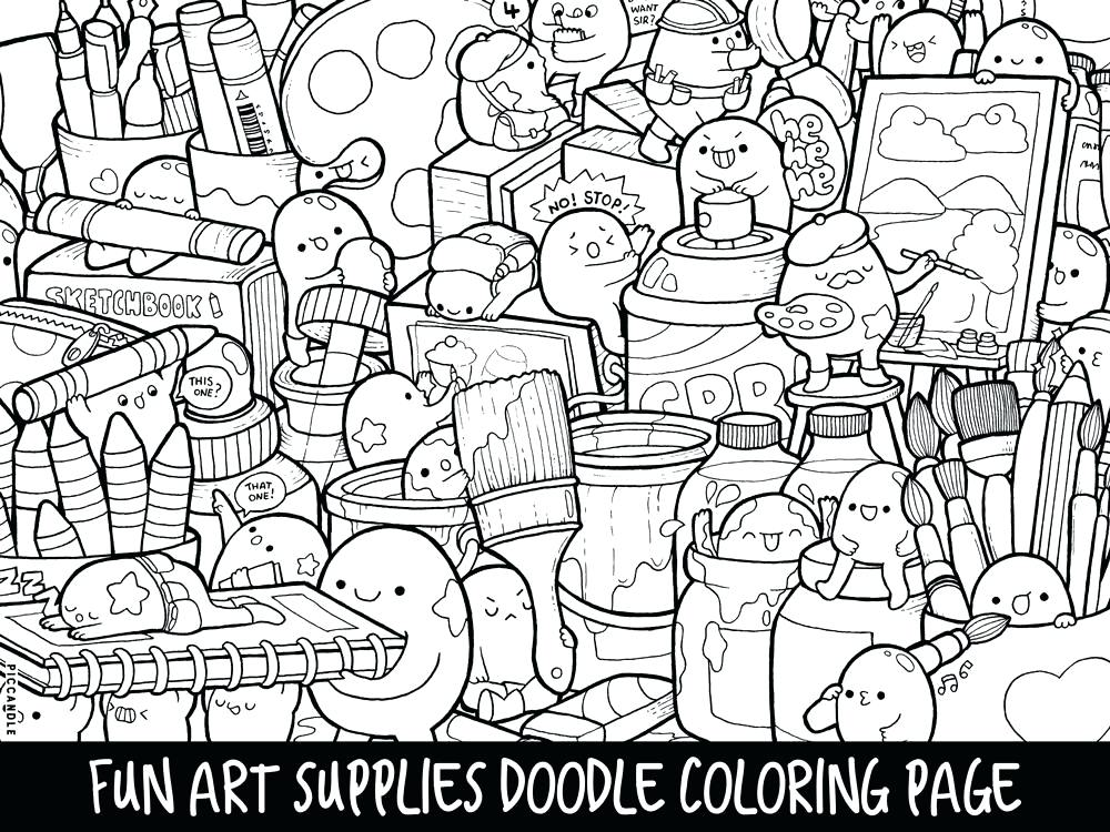1000x750 Doodling Coloring Pages Advanced Coloring Pages Doodles Coloring