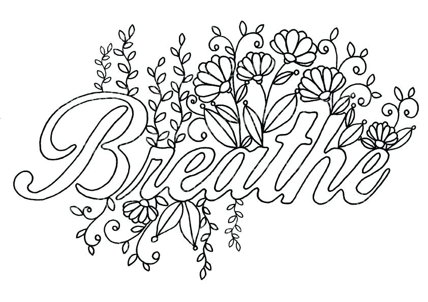 842x595 Quote Coloring Pages Zoom Life Zen Quotes Colouring