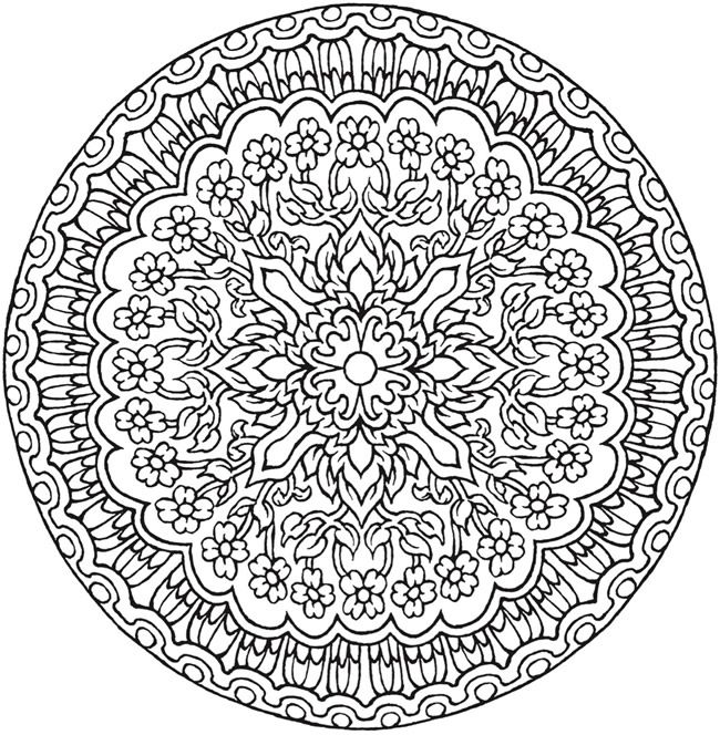 Zen Coloring Pages Pdf
