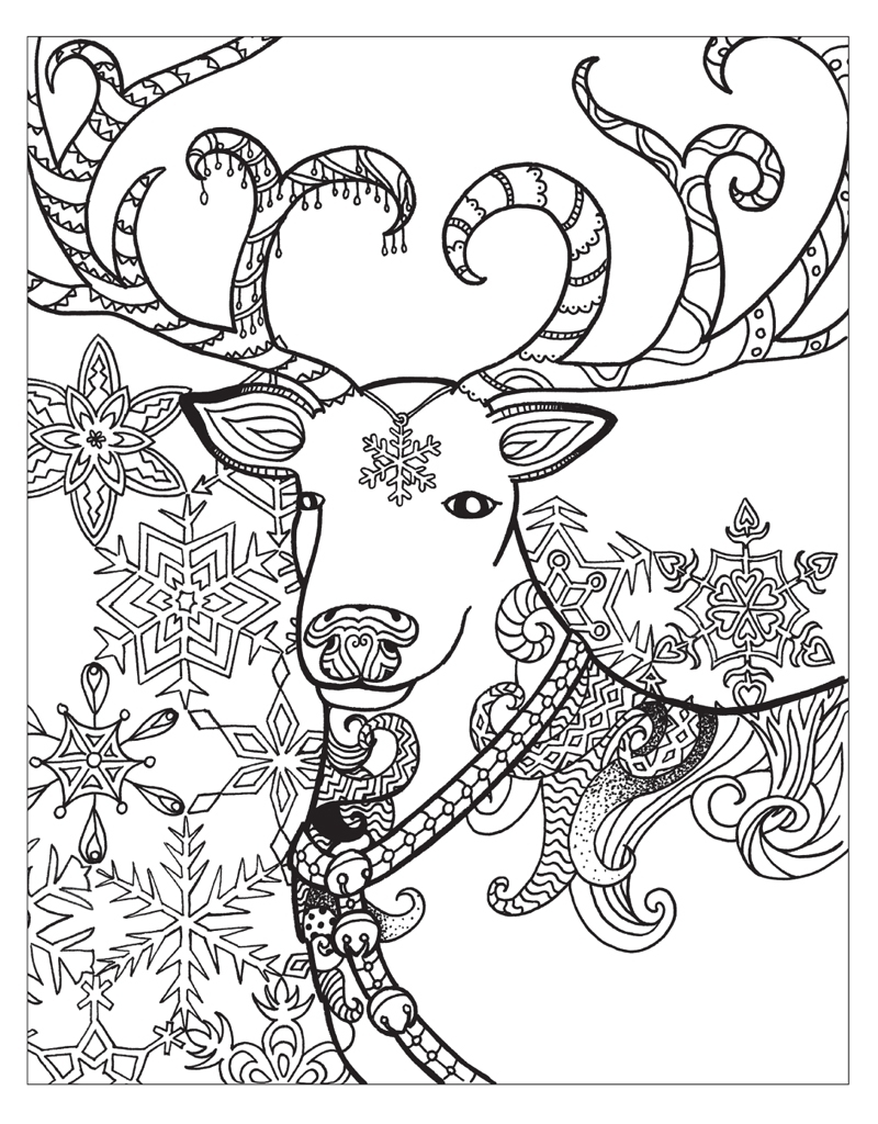 Zendoodle Coloring Pages