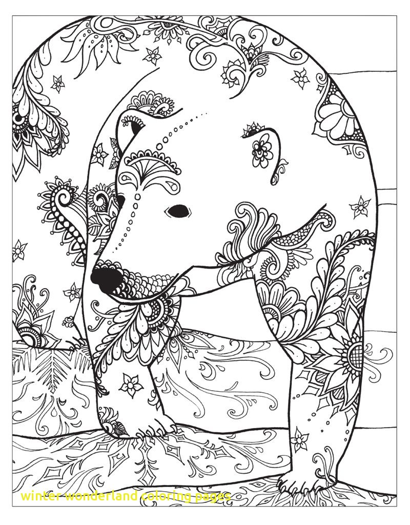 800x1024 Winter Wonderland Coloring Pages With Zendoodle Coloring Winter