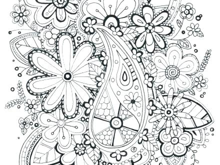 440x330 Zentangle Coloring Pages Free Printable Coloring Pages Coloring