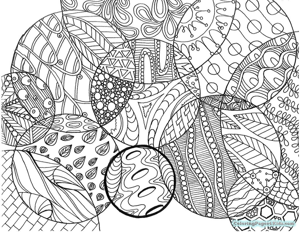 1024x791 Odd Zentangle Coloring Pages Hard S For Kids