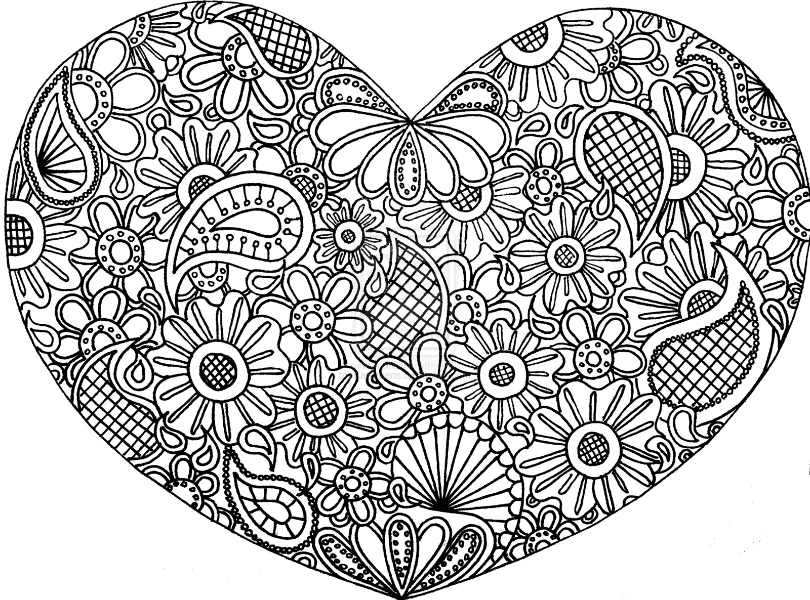1600x1186 Printable Zentangle Coloring Pages Free Stunning Acpra