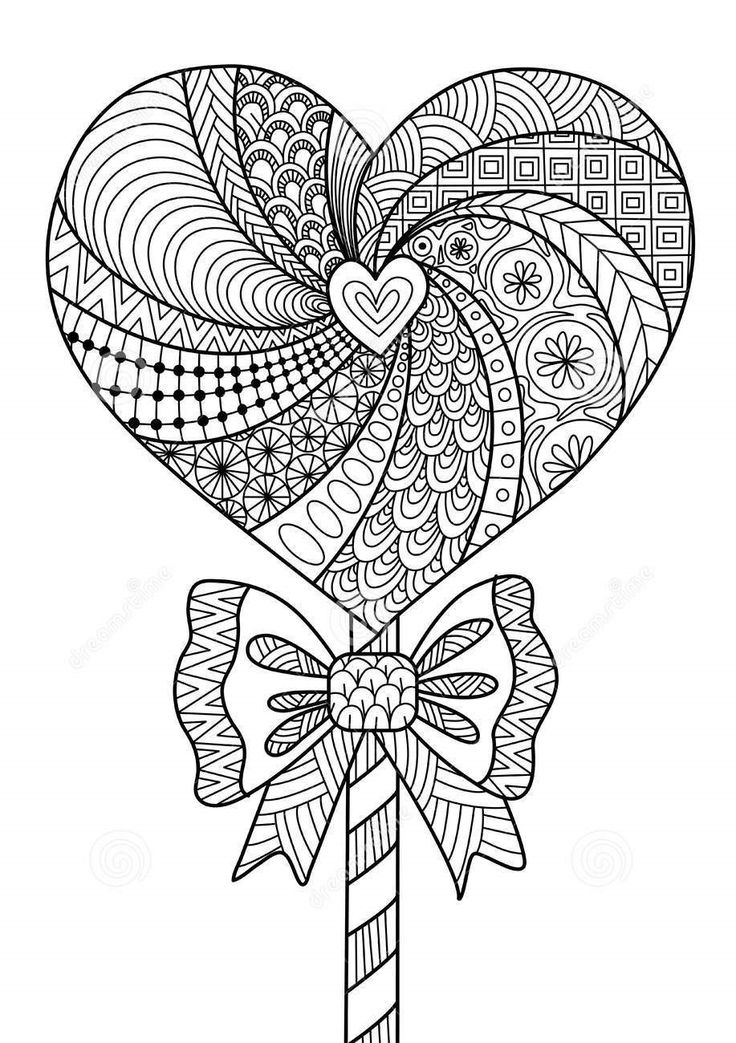 Zentangle Coloring Pages For Kids