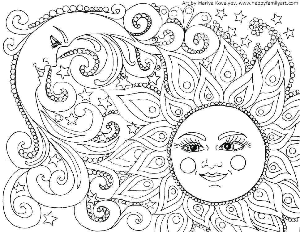 970x755 Zentangle Coloring Pages Free