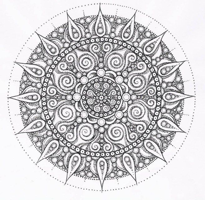 Zentangle Coloring Pages Pdf