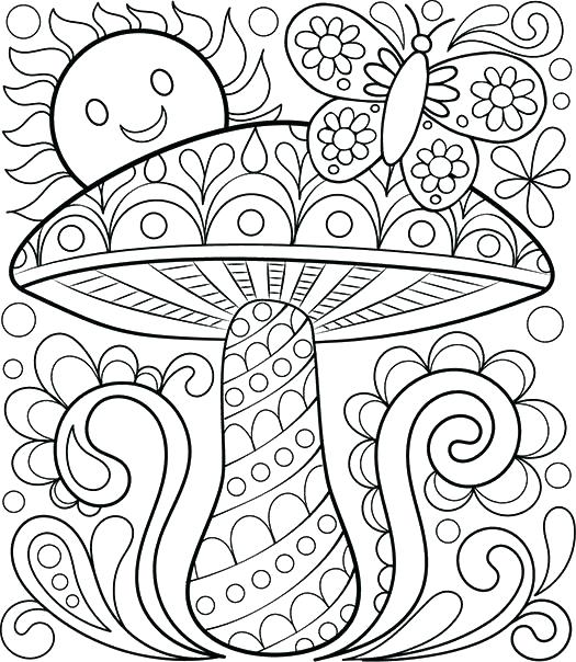 525x604 Printable Coloring Pages Pdf My Printable Zentangle Coloring Pages