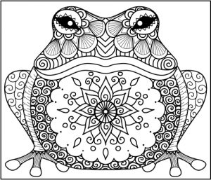 300x257 Stunning Ideas Animal Coloring Pages Animal Zentangle Coloring