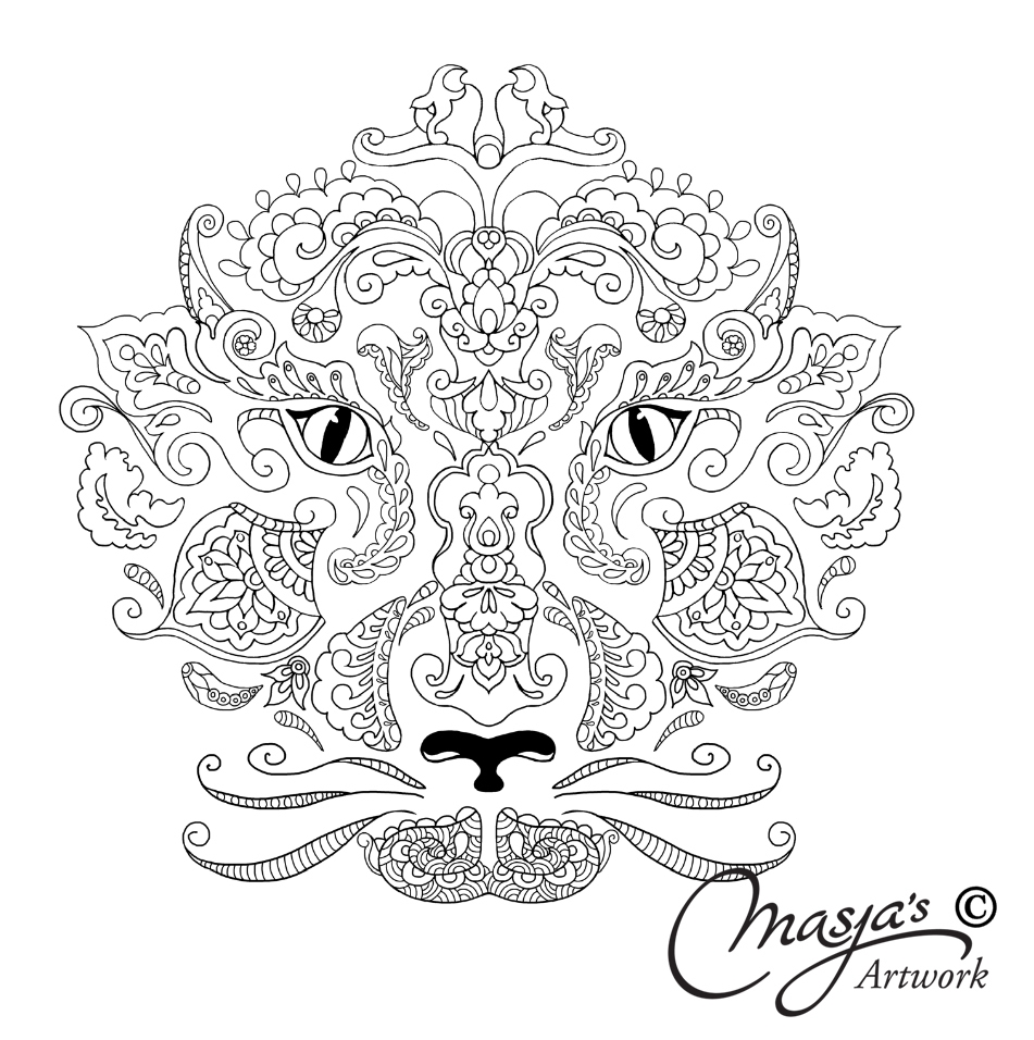 951x956 Free Printable Zentangle Coloring Pages Printable