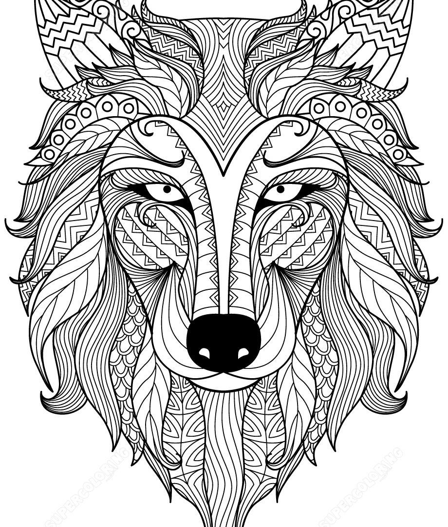 920x1080 Panda Zentangle Celine Coloring Pages For Adults Extreme Adult
