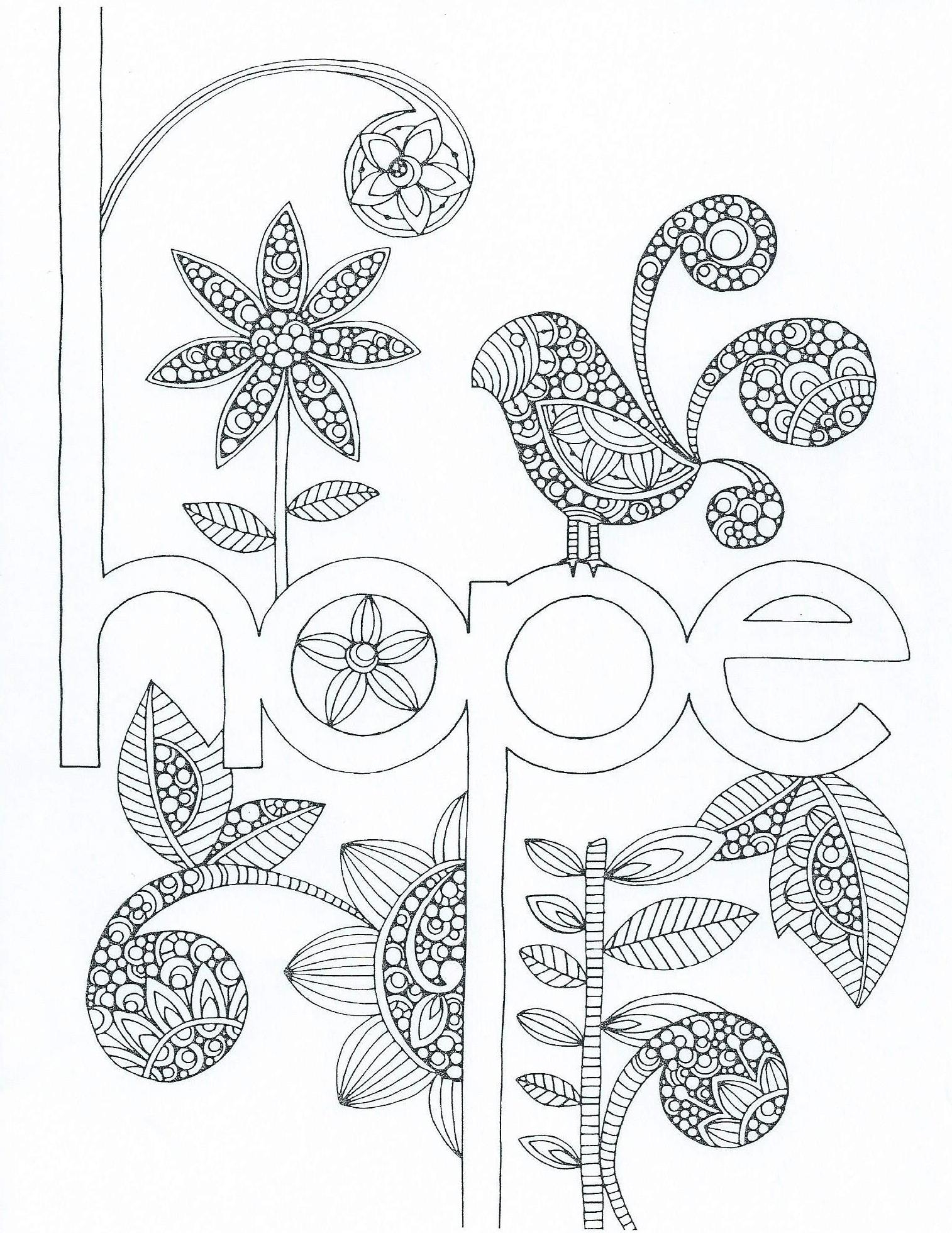 1514x1960 Printable Zentangle Coloring Pages Free Coloring Pages