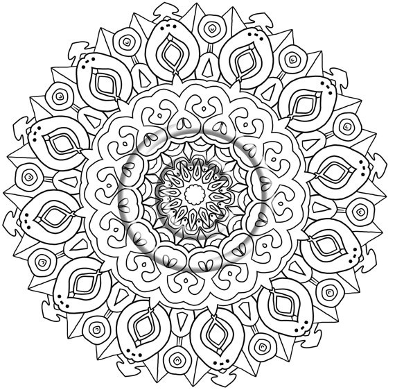570x562 Zentangle Coloring Pages Lovely Zentangle Coloring Page Printable