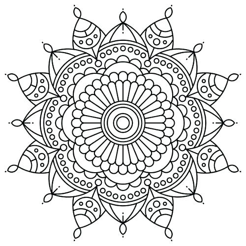 500x500 Zentangle Coloring Pages Printable Coloring Pages Cool Zentangle