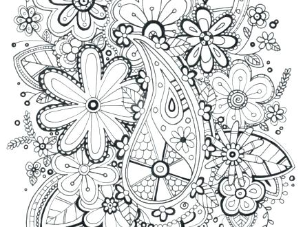 440x330 Zentangle Printable Coloring Pages Coloring Pages Packed