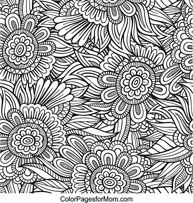 640x671 Coloring Pages Zentangle Coloring Pages For Grown Ups Printable
