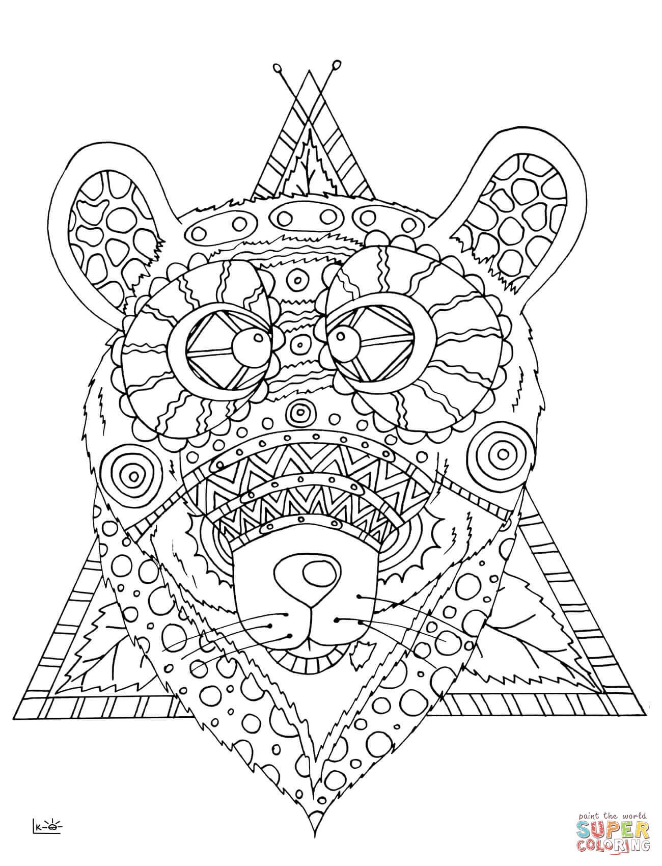 1300x1700 Zentangle Horse Coloring Pages Abstract Beautiful Zentangle