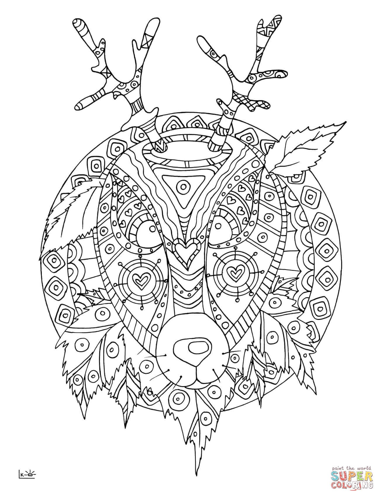 1300x1700 Zentangle Horse Coloring Pages Abstract Lovely Zentangle Coloring