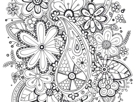 440x330 Free Zentangle Coloring Pages Zentangle Patterns Coloring Pages
