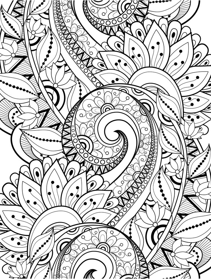 736x971 Best Doodles Images On Coloring Books, Coloring