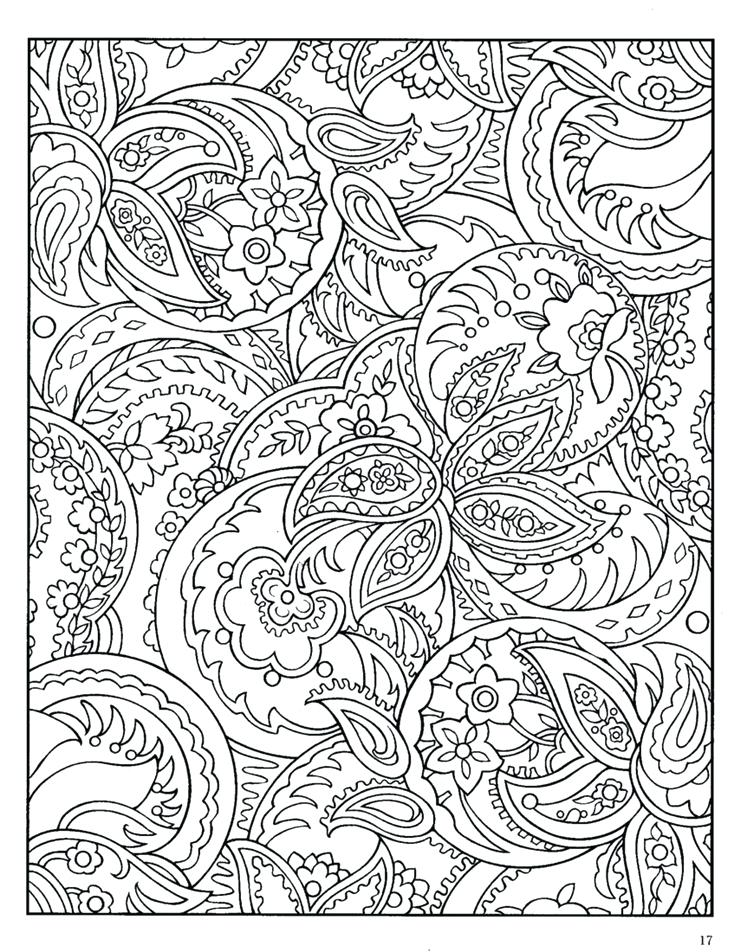 736x952 Zentangle Patterns Coloring Pages