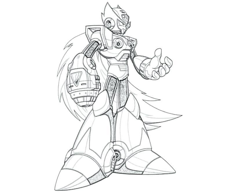 800x667 Megaman Coloring Pages X Coloring Pages For Kids And For Adults