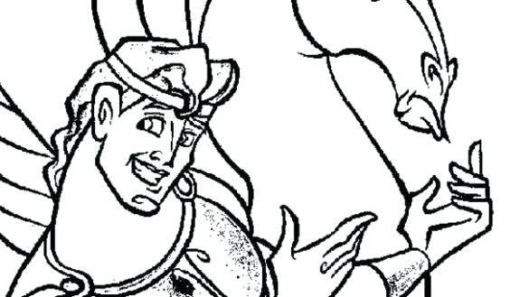 585x329 Zeus Coloring Page Largest Coloring Page And Pages Com Statue