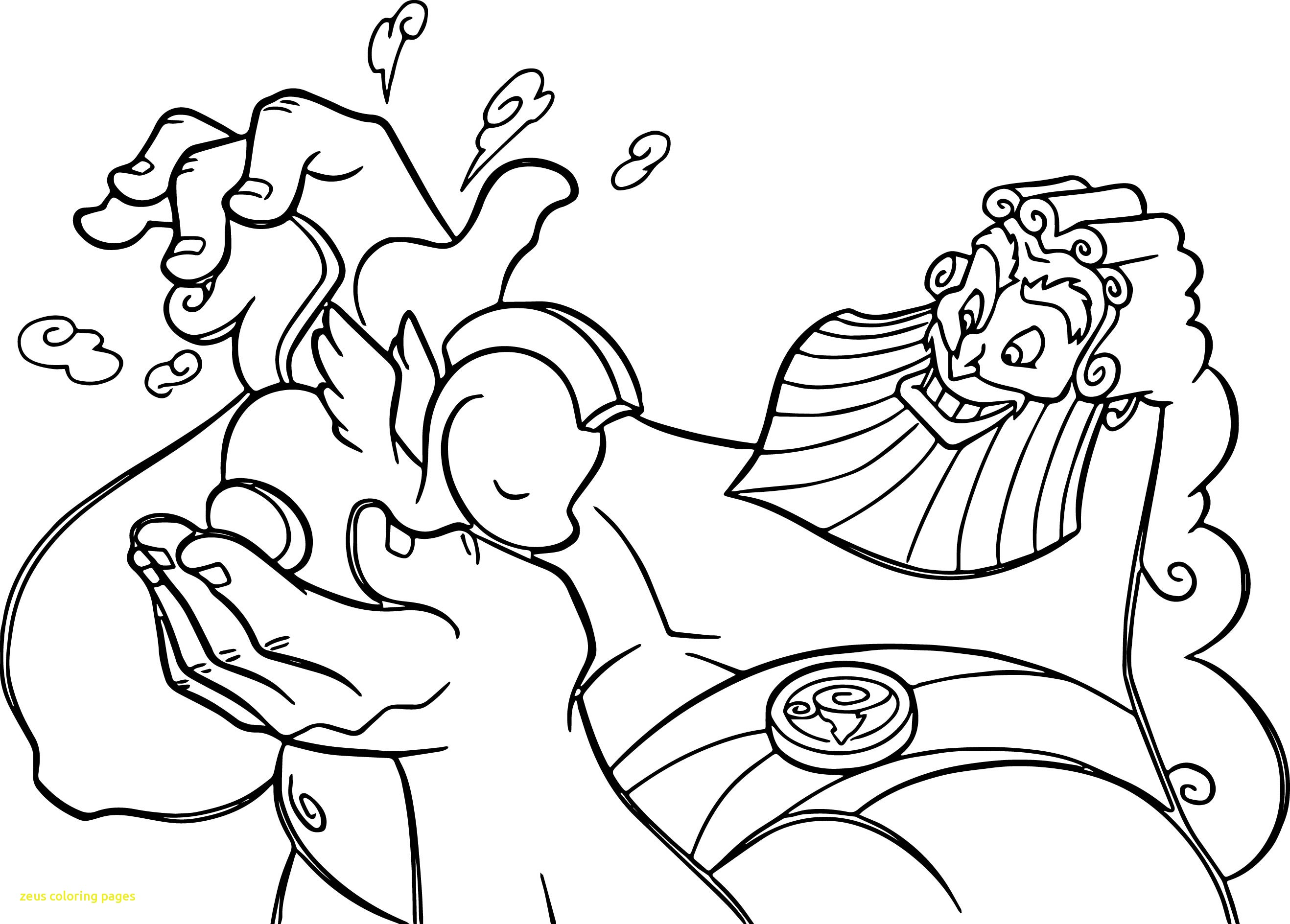 The Best Free Zeus Coloring Page Images Download From 70