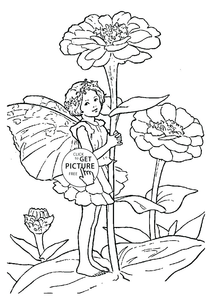 736x1041 Flower Fairy Coloring Pages Girls Coloring Books Also Color Pages