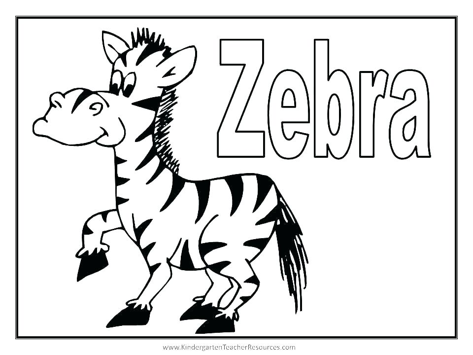 960x720 Coloring Pages Zebra Cute Zebra Coloring Pages Zebra Coloring