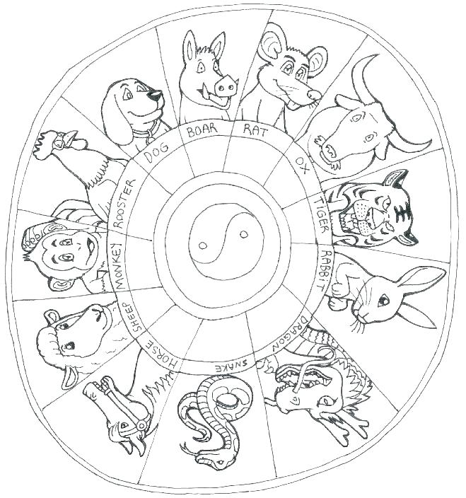 659x704 Cool Zodiac Coloring Pages Zodiac Coloring Pages Image Adult